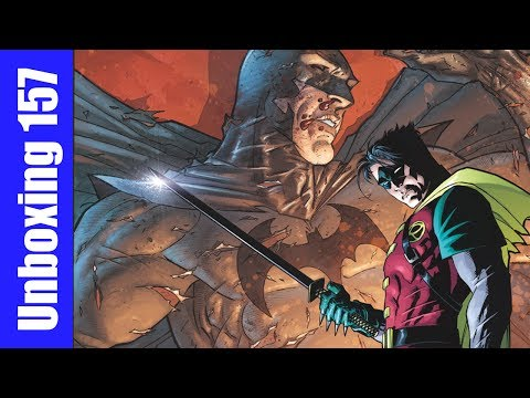 Damian Son of Batman #1, Sandman Overture #1, Infinity #5, more! Unboxing Wednesdays 157