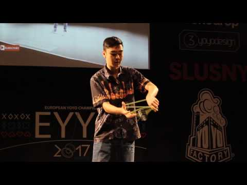 The 2017 European YoYo Champion s Winning