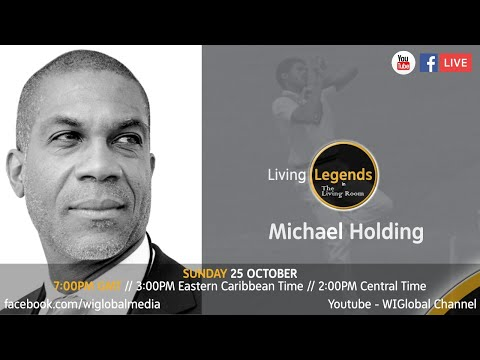 Series 3: Episode 2 - Living Legends in The Living Room: Michael Holding
