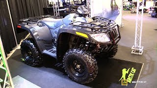 8. 2018 Arctic Cat Alterra VLX 700 Recreational ATV - Walkaround - 2017 Drummondville ATV Show