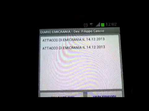 Video of diario  emicrania cefalea chat