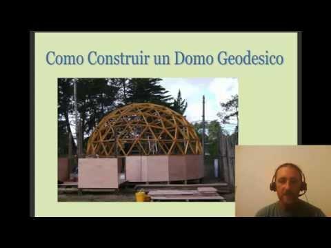 Domo Geodesico Madera Tutorial Como Construir