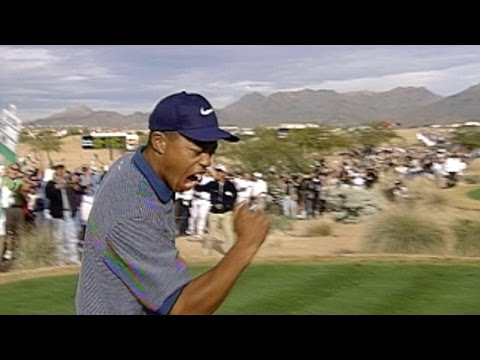 Tiger Woods recalls his ace and boulder encounter from Phoenix