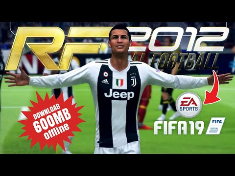 Download Real Football 2019 Mod Fifa 19 Update Kits & Transfer 2018/19 Rf 2012 Hack Unlimited Coins