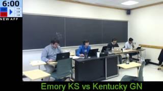 2016 NDT - Kentucky GN vs Emory KS