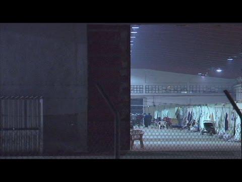 Ένταση και επεισόδια στο Ωραιόκαστρο μετά το τροχαίο με δύο νεκρούς πρόσφυγες