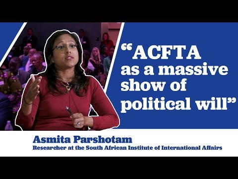 Asmita Parshotam on the Political Will Behind ACFTA