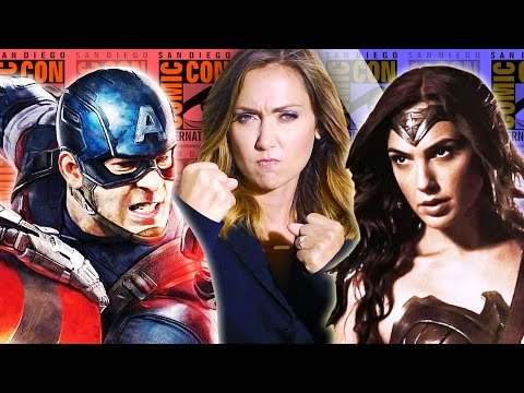 Jessica - Marvel and DC BROUGHT it to Comic Con this year: Batman v Superman footage, Wonder Woman Costume, Ant-Man, Guardians of the Galaxy 2 & more. But in the end, who's the winner? Find out on Nerdist...