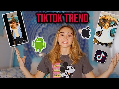 NEW TIKTOK TREND TUTORIAL *FREE* (Android & IPhone)