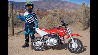 6. 2018 Honda CRF50F Review | The Ultimate Beginner Motorcycle