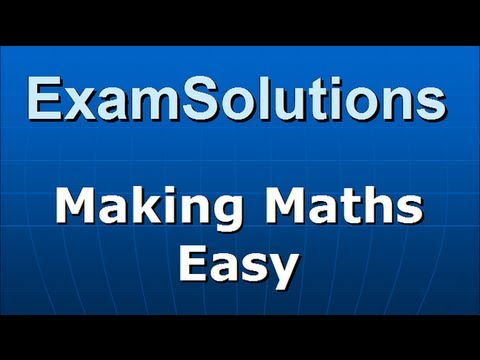 A-Level Statistik Edexcel S1 Januar 2007 Q4 a, b ExamSolutions