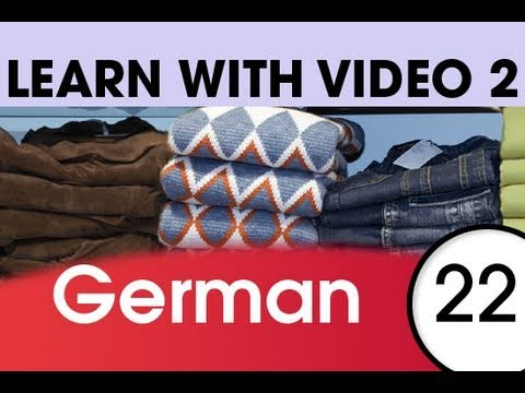 Learn German with Video – Get Dressed — and Undressed — with German