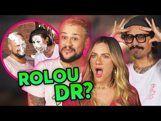 CRISE NO CASAMENTO! - DIVA DEPRESSÃO NO TORTA NA CARA! - Giovanna Ewbank