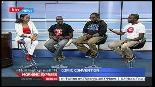 Morning Express 26th August 2016 – Comic Convention