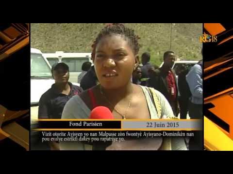 Haïti / St-Domingue,- Déportation des haïtiens vivant