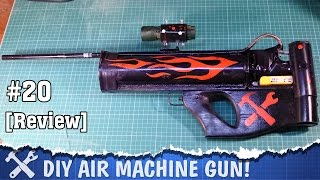 This is some review on my homemade air gun called GyverGun with full auto fire mode! This air gun can shoot about 2 BB balls per second. This gun is totally DIY, and now i'm making a video about how  to make air machine gun like this one! I hope you like it.This air gun uses a montage foam cylinder with pressurized air to shooy BB balls, valve is solenoid pneumatic valve from air horn. This homemade air gun is a little bit complicated to built, but it is totally cool!---------------------------------------------Patreon: https://goo.gl/ksXs2xFacebook: https://www.facebook.com/AlexGyver12