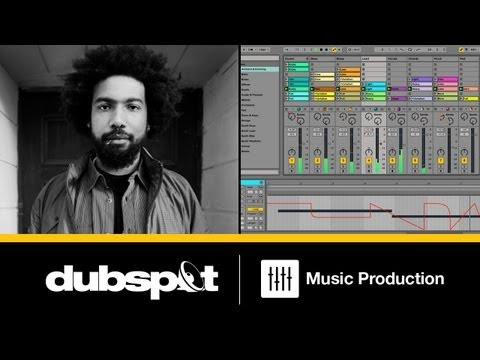 Ableton Live 9 Tutorial w/ Thavius Beck: Session View Automation + Drum Arpeggiator