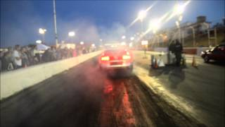 Cobra jet Mustang 2013 gives 3 straight losses to ultra fast fox body stang - YouTube
