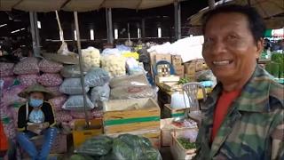 Pakse Laos  City pictures : Pakse Market Laos Talat Dao Heuang 2016
