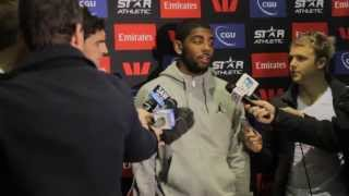 Collingwood Australia  city images : Kyrie Irving meets Scott Pendlebury @ Collingwood Football Club - 1st July 2013