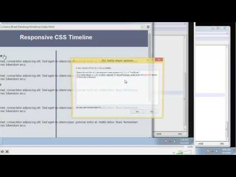 Learn to design a CSS3 timeline - Part 5