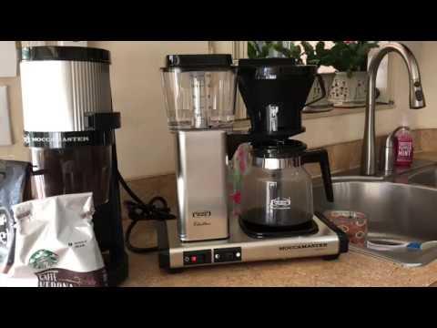 Technivorm Moccamaster Best Coffee Maker Ever!