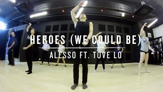 Heroes (Alesso ft. Tove Lo) Wenjun Choreography Video