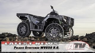 1. ATV Television Latest News - Polaris Sportsman WV850 H.O.