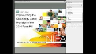 The 2014 Farm Bill allows eligible national and state commodity boards to propose topics for research that they are willing to...