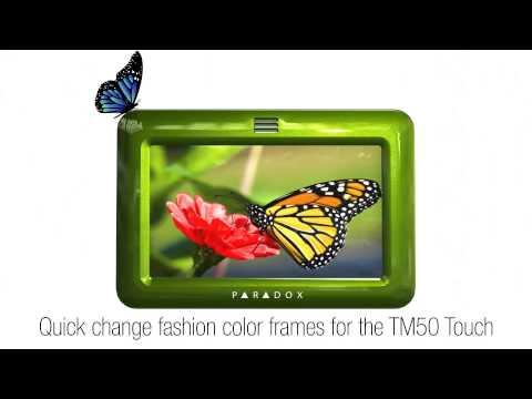 Dotykowa klawiatura TM50 - kolorowe ramki