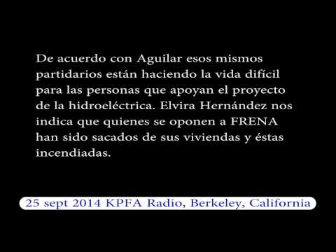"Video. ""Reporte sobre Guatemala KPFA Radio"" (25 sep 2014)"