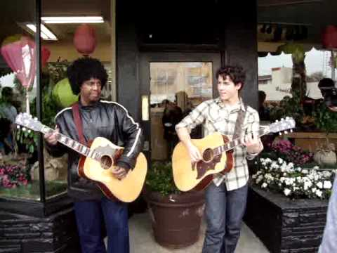 nick jonas and sonny thompson who i am (acustic) at marks flower shop sherman oaks