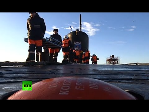 Footage - A Russian Borey-class nuclear submarine has successfully test-fired a Bulava strategic missile, the Russian Defense Ministry said. The ballistic missile was launched from a submerged position...