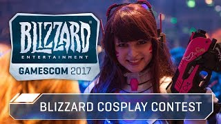 Blizzard Cosplay Costume Contest at gamescom 2017