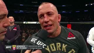 Video UFC 217: Georges St-Pierre and Michael Bisping Octagon Interviews MP3, 3GP, MP4, WEBM, AVI, FLV Oktober 2018