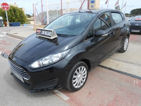 See video Ford FIESTA 1.25i TREND