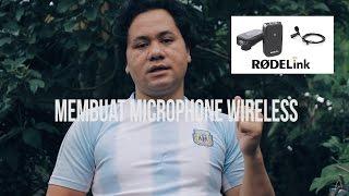 Video Singkat Membuat MICROPHONE Wireless D S L R MURAH