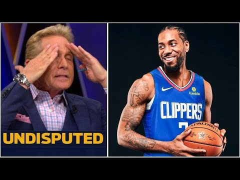UNDISPUTED - Skip on Clippers vs Mavericks Game 6 tonight: I'm done with Kawhi!!