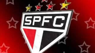 O hino do Grande Tricolor Paulista.