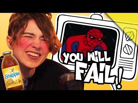 YOU CANNOT WIN THIS TRY NOT TO LAUGH CHALLENGE! (Snapple Version) Do NOT Do That Spider-Man!