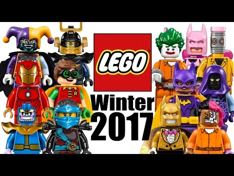Winter 2017 Lego Figurine Images