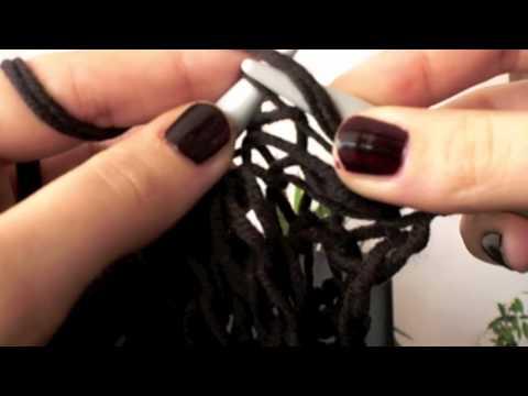 [How-To] Schlauchschal stricken