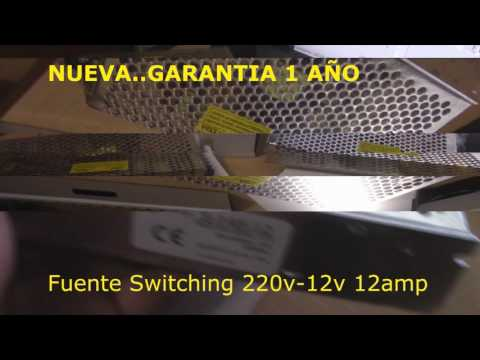 Fuente Switching 12v 12amp
