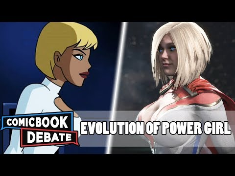 Evolution Of Power Girl In All Media In 4 Minutes (2018)