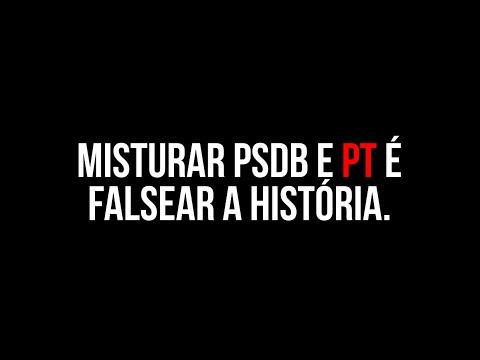 Misturar o PSDB e o PT é falsear a história