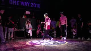 Yuns & Poppin Mett vs Susoopop & K-in – ONEWAY Vol.1 Poppin 1/4 Final