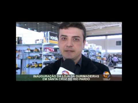 INAUGURAÇÃO DA LOJA DA OURIMADEIRAS EM SANTA CRUZ DO RIO PARDO parte 01