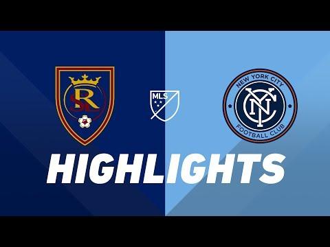 Video: Real Salt Lake vs. NYCFC | HIGHLIGHTS - August 3, 2019