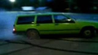 Video Volvo 740 Turbo Burnout MP3, 3GP, MP4, WEBM, AVI, FLV Desember 2017