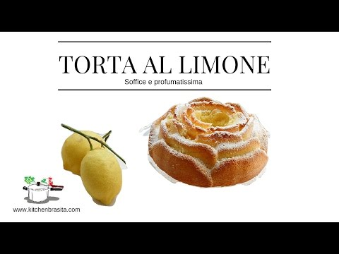 torta al limone pronta in 10 minuti: video ricetta!